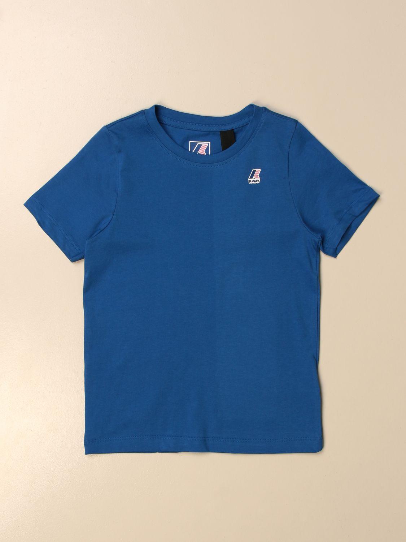 Camiseta K-Way: Camiseta niños K-way royal blue 1