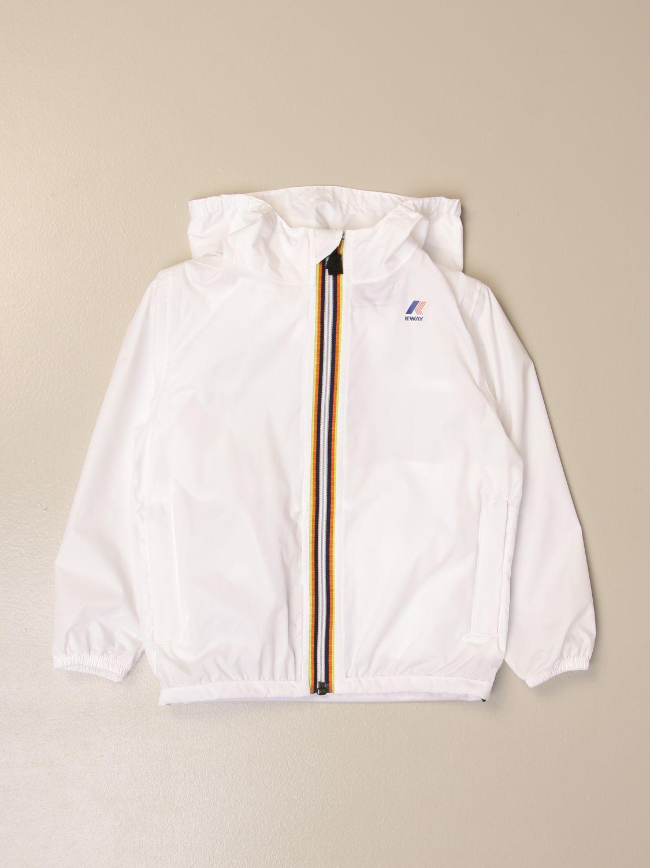 外套 K-Way: 外套 儿童 K-way 白色 1