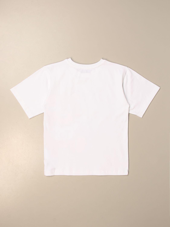 Camiseta Moschino Kid: Camiseta niños Moschino Kid blanco 2