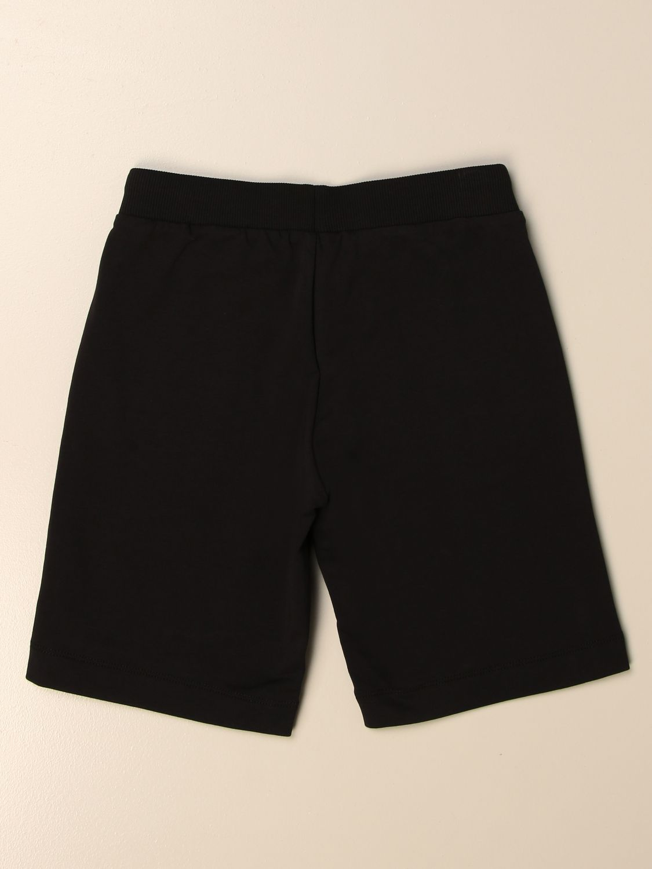 Shorts Moschino Kid: Moschino Kid jogging bermuda shorts with logo black 2