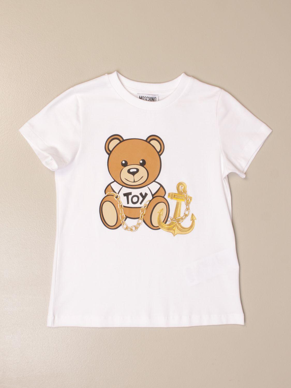 T恤 Moschino Kid: T恤 儿童 Moschino Kid 白色 1