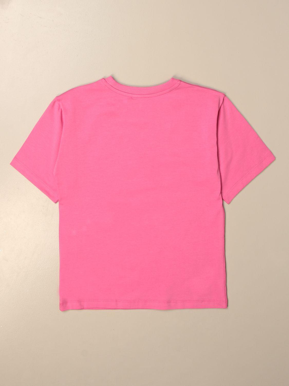 T恤 Moschino Kid: T恤 儿童 Moschino Kid 紫红色 2