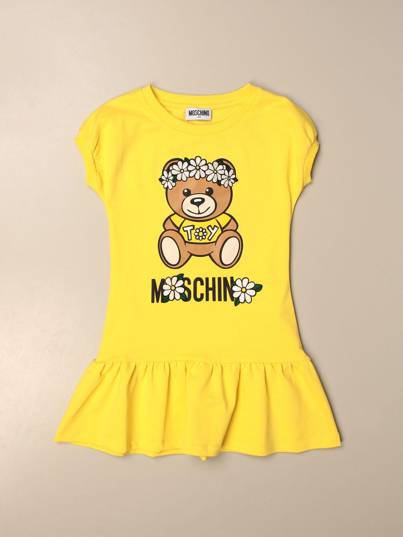 Robe Moschino Kid: Robe enfant Moschino Kid jaune 1