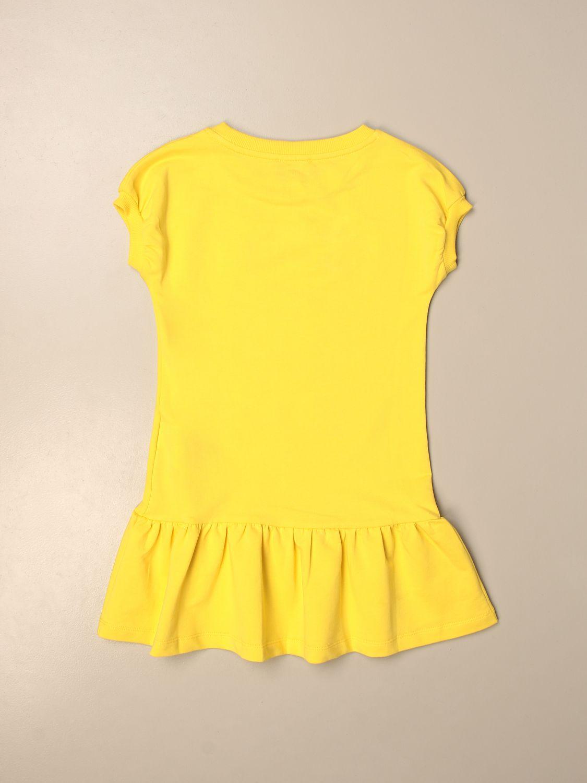 Robe Moschino Kid: Robe enfant Moschino Kid jaune 2