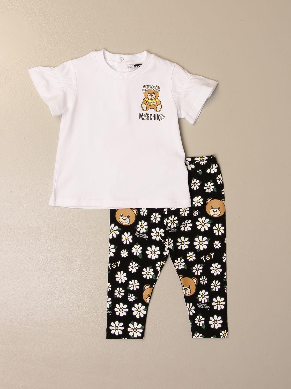 Mono Moschino Baby: Mono niños Moschino Baby blanco 1