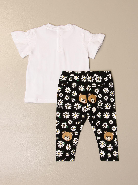 Mono Moschino Baby: Mono niños Moschino Baby blanco 2