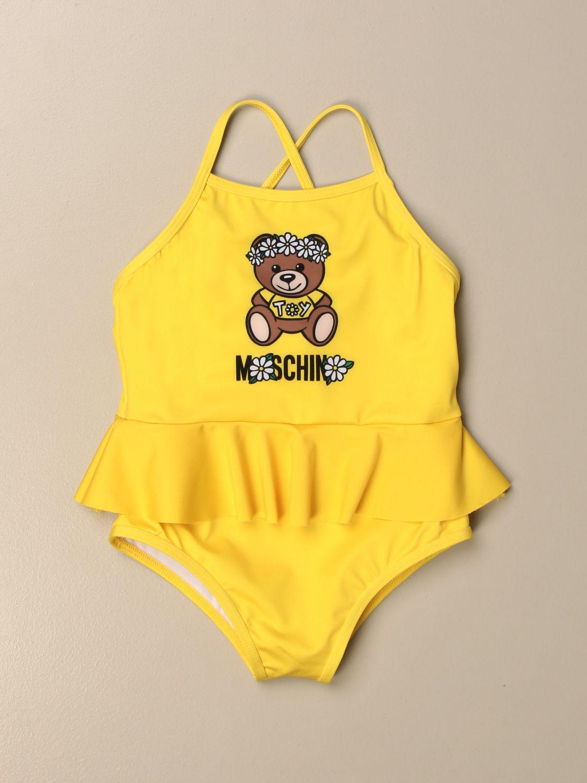 Bañador Moschino Baby: Bañador niños Moschino Baby amarillo 1