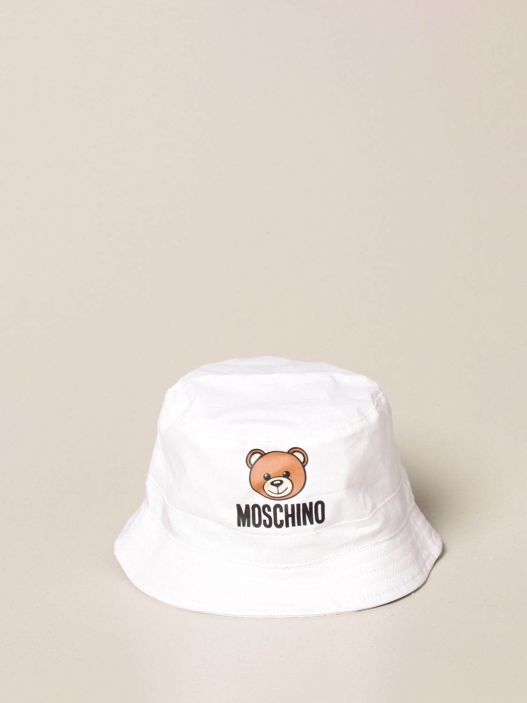 Gorro Moschino Baby: Gorro niños Moschino Baby blanco 2