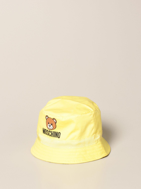 Gorro Moschino Baby: Gorro niños Moschino Baby amarillo 1