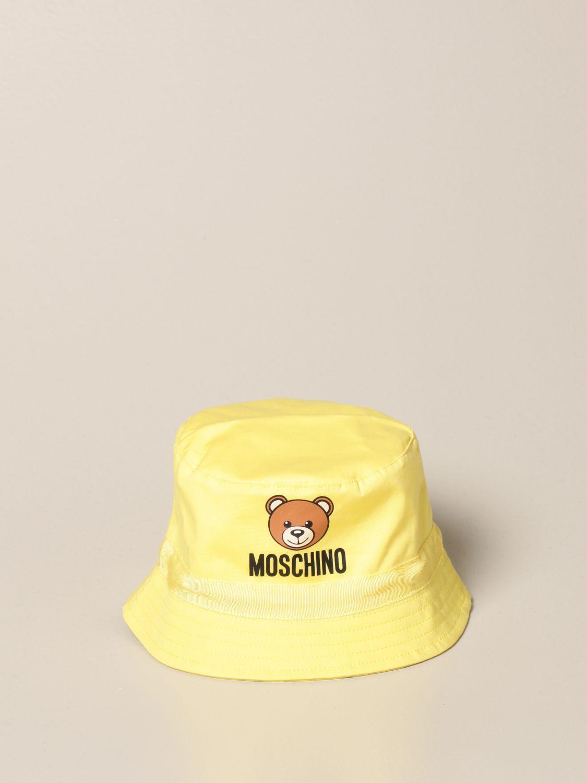 Gorro Moschino Baby: Gorro niños Moschino Baby amarillo 2