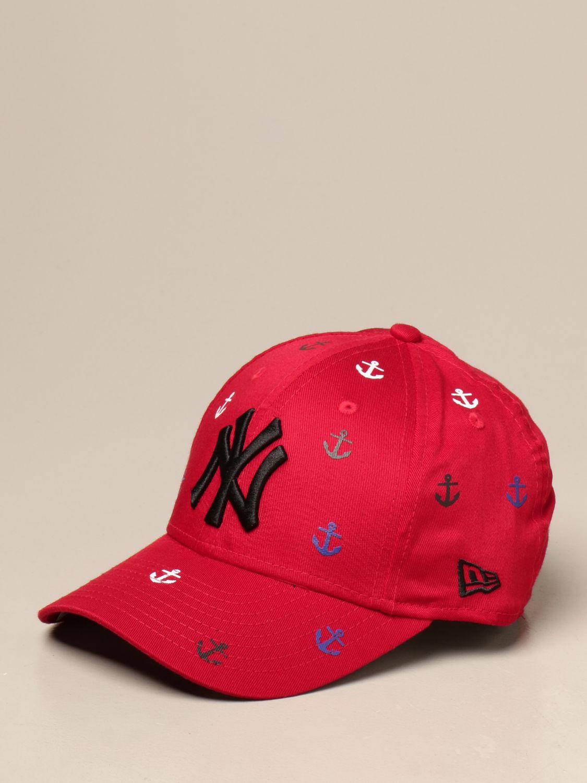 Hat New Era Youth: Hat kids New Era Youth red 1