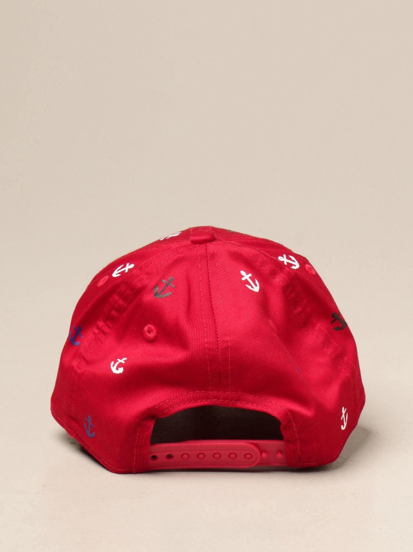 Hat New Era Youth: Hat kids New Era Youth red 3