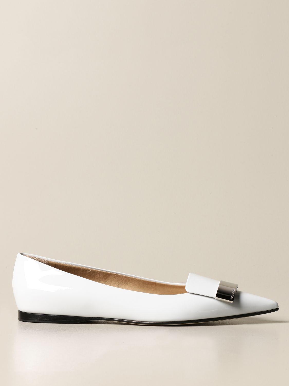 Ballerinas Sergio Rossi: Schuhe damen Sergio Rossi hellblau 1