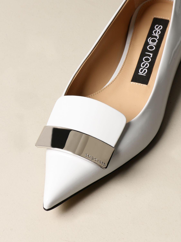 Ballerinas Sergio Rossi: Schuhe damen Sergio Rossi hellblau 4