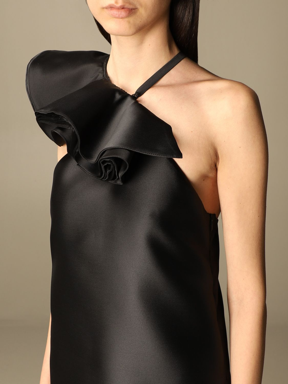 Kleid Simona Corsellini: Kleid damen Simona Corsellini schwarz 3