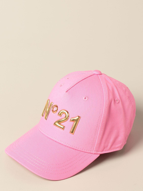 Шапка для девочек N° 21: Шапка для девочек Детское N° 21 розовый 1