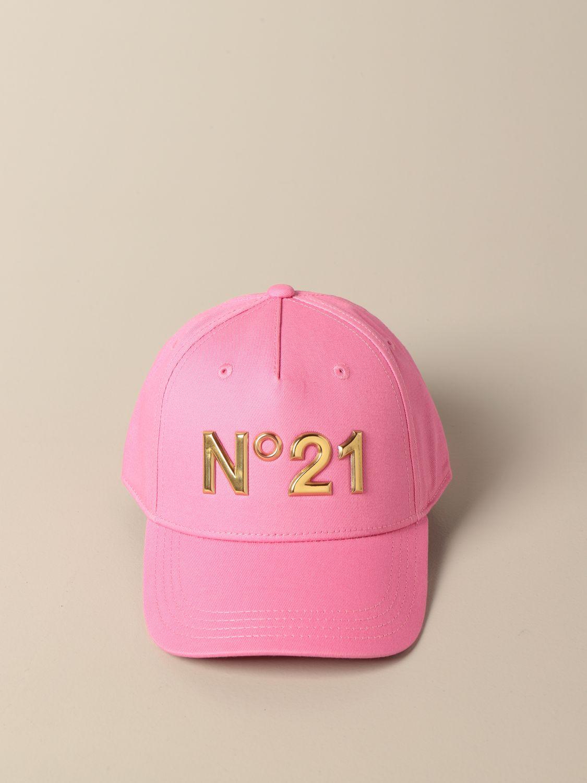 Шапка для девочек N° 21: Шапка для девочек Детское N° 21 розовый 2