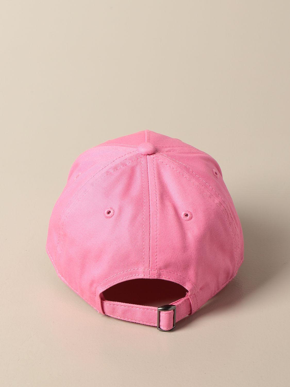 Шапка для девочек N° 21: Шапка для девочек Детское N° 21 розовый 3