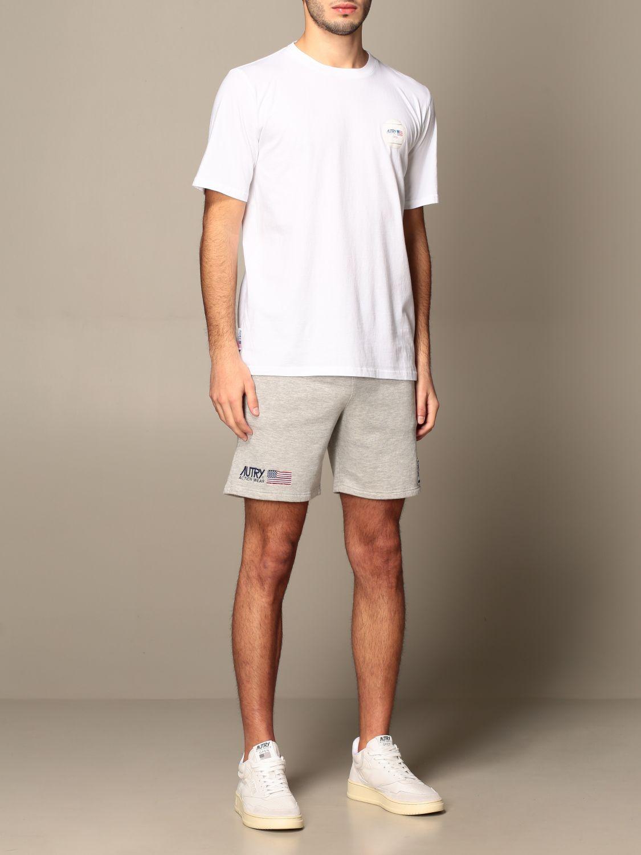 T-shirt Autry: Capsule Open Autry T-shirt in cotton white 2