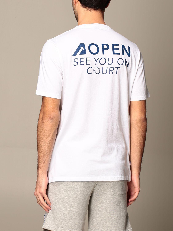 T-shirt Autry: Capsule Open Autry T-shirt in cotton white 3