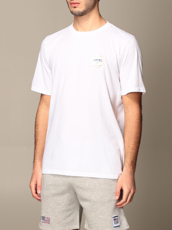 T-shirt Autry: Capsule Open Autry T-shirt in cotton white 4