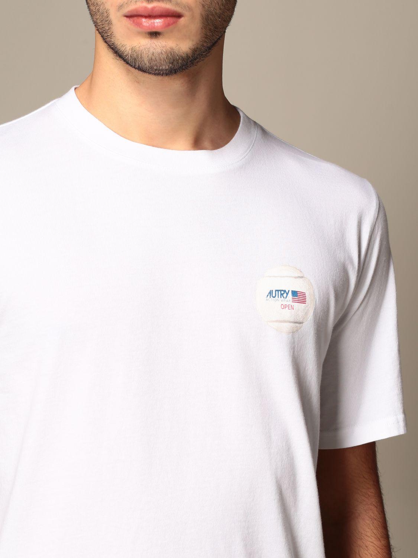 T-shirt Autry: Capsule Open Autry T-shirt in cotton white 5