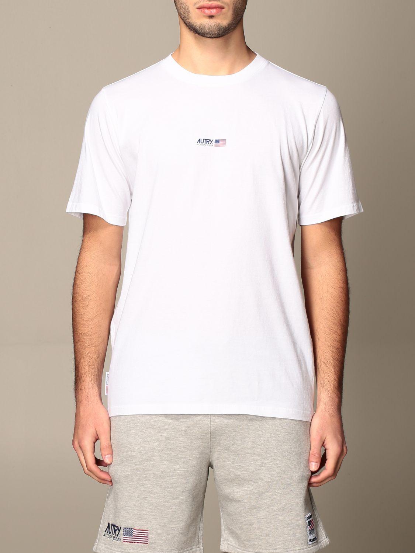 T-shirt Autry: T-shirt Capsule Open Autry in cotone bianco 1