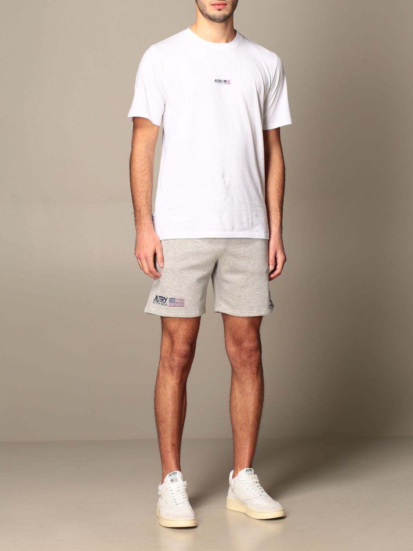 T-shirt Autry: T-shirt Capsule Open Autry in cotone bianco 2