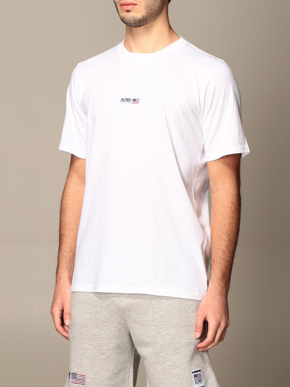 T-shirt Autry: T-shirt Capsule Open Autry in cotone bianco 4
