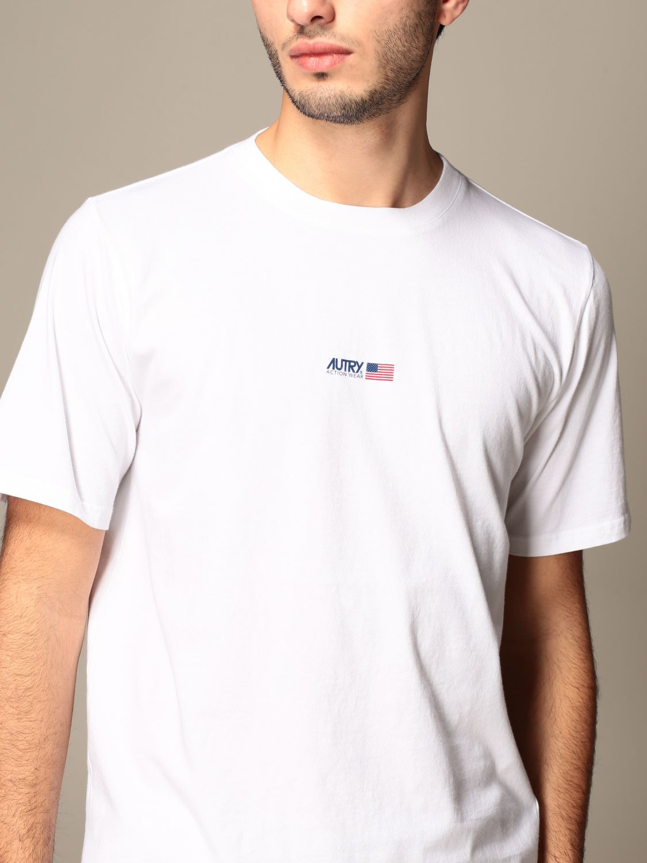 T-shirt Autry: T-shirt Capsule Open Autry in cotone bianco 5