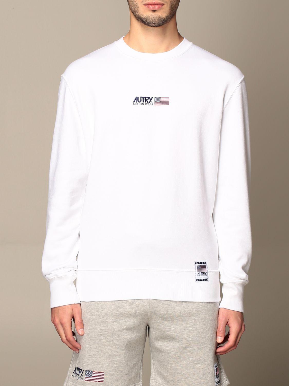 Sweatshirt Autry: Sweatshirt men Autry white 1