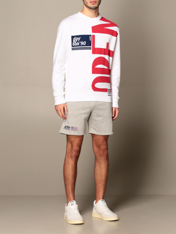 Sweatshirt Autry: Sweatshirt men Autry white 2
