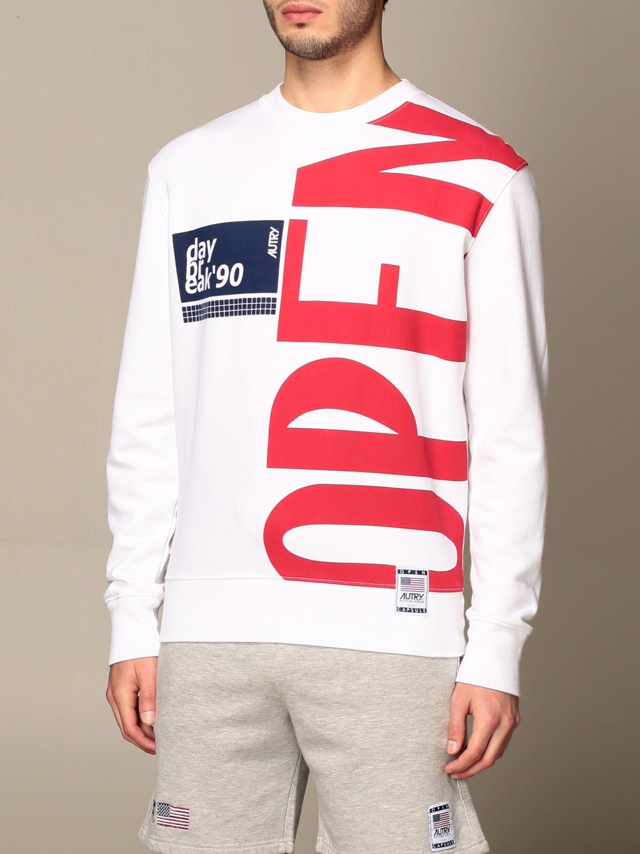 Sweatshirt Autry: Sweatshirt men Autry white 4