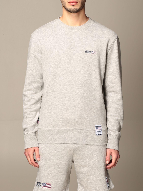 Sweatshirt Autry: Sweatshirt homme Autry gris 1