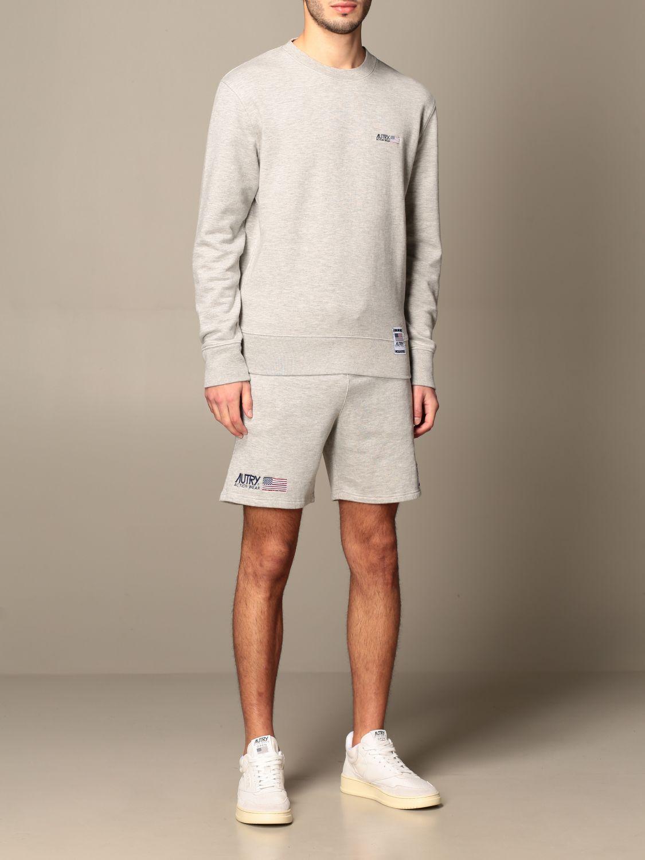 Sweatshirt Autry: Sweatshirt homme Autry gris 2