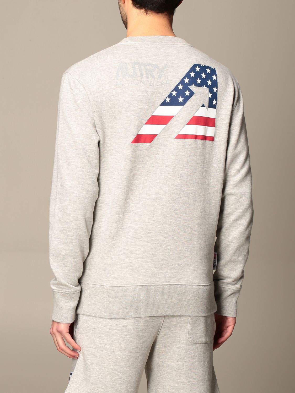 Sweatshirt Autry: Sweatshirt homme Autry gris 3