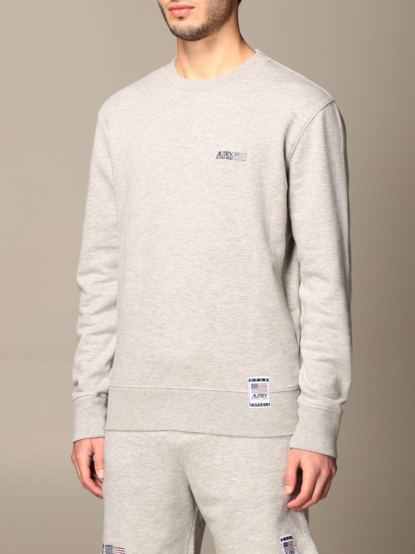 Sweatshirt Autry: Sweatshirt homme Autry gris 4
