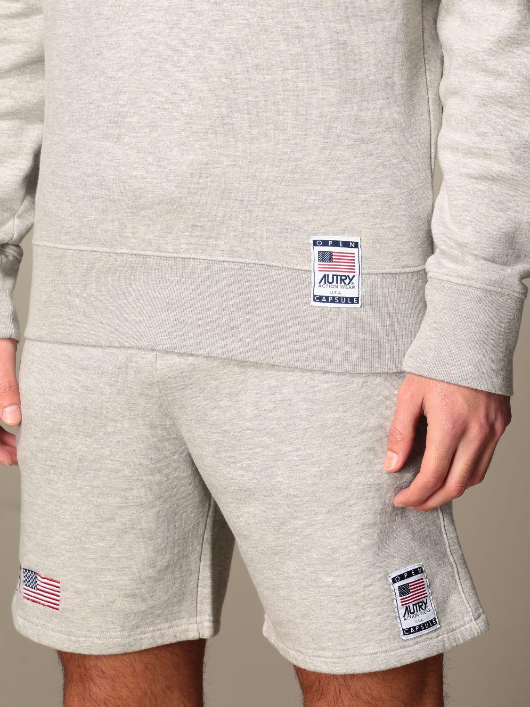 Sweatshirt Autry: Sweatshirt homme Autry gris 5
