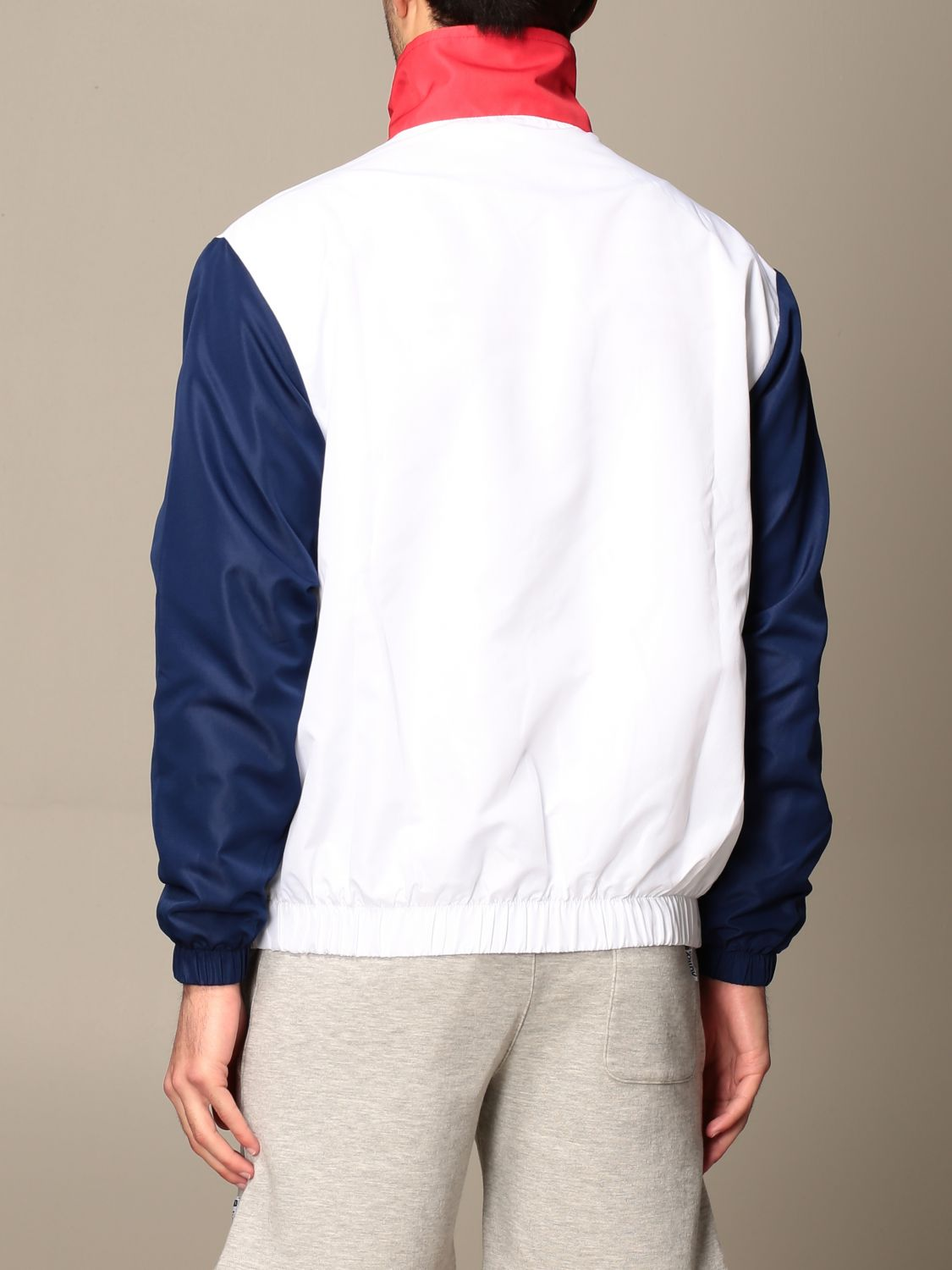 Giacca Autry: Giacca con zip Capsule Open Autry in cotone bianco 3