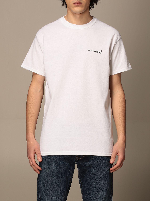 T-shirt Backsideclub: T-shirt men Backsideclub white 1