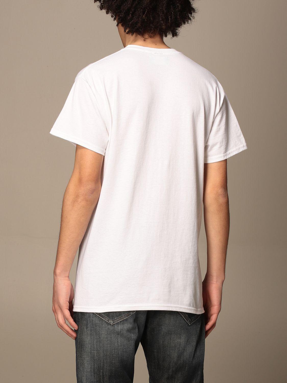 T-shirt Backsideclub: T-shirt Barcelona Backsideclub in cotone bianco 2