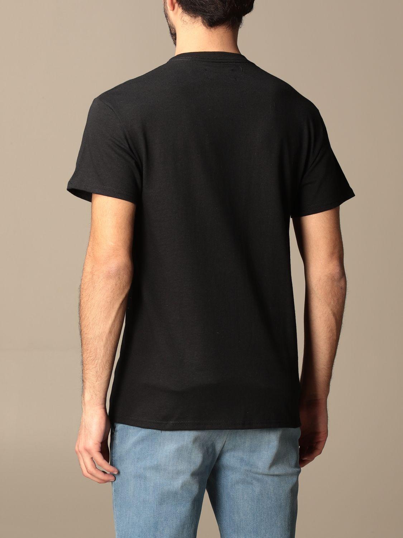 T-shirt Backsideclub: T-shirt Germain Backsideclub in cotone con stampa nero 2