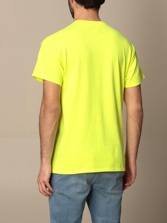 T-shirt Backsideclub: T-shirt Germain Backsideclub in cotone con stampa giallo 2