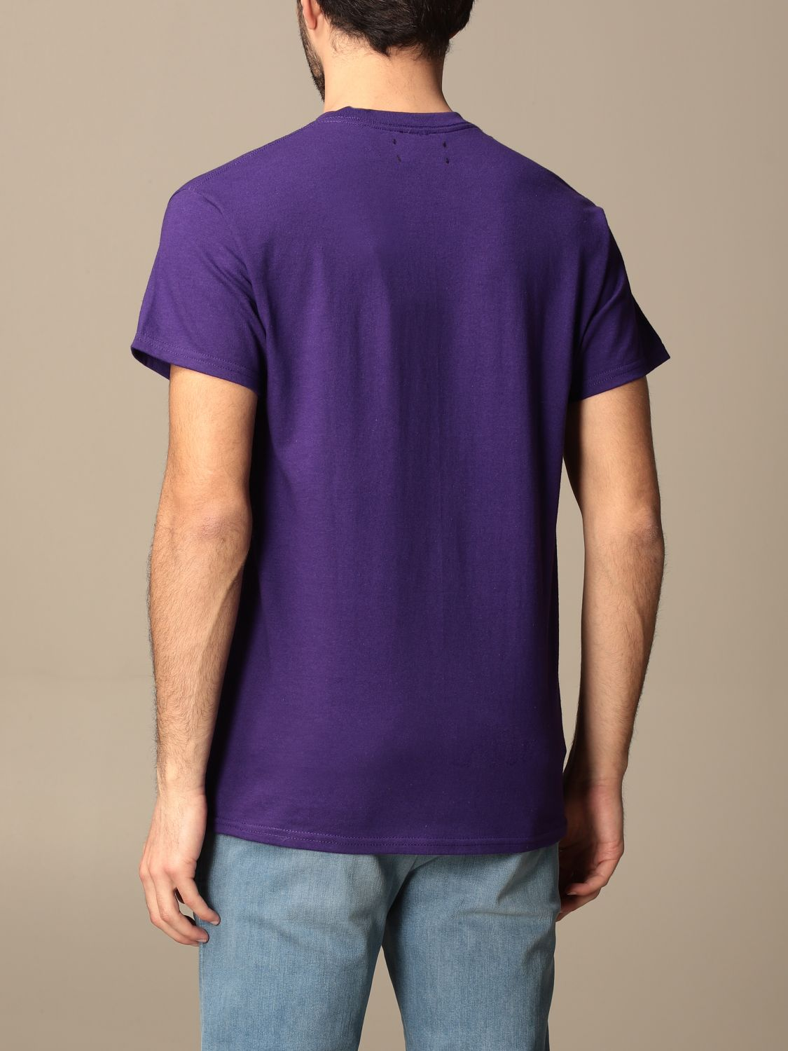 T-shirt Backsideclub: T-shirt men Backsideclub violet 2