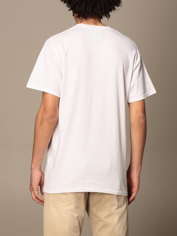 T-shirt Backsideclub: T-shirt homme Backsideclub blanc 2