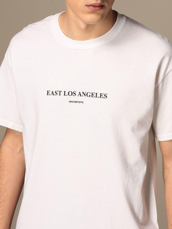 T-shirt Backsideclub: T-shirt homme Backsideclub blanc 4