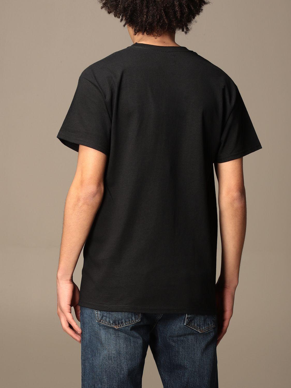 T-shirt Backsideclub: T-shirt East Los Backsideclub in cotone con stampa nero 2