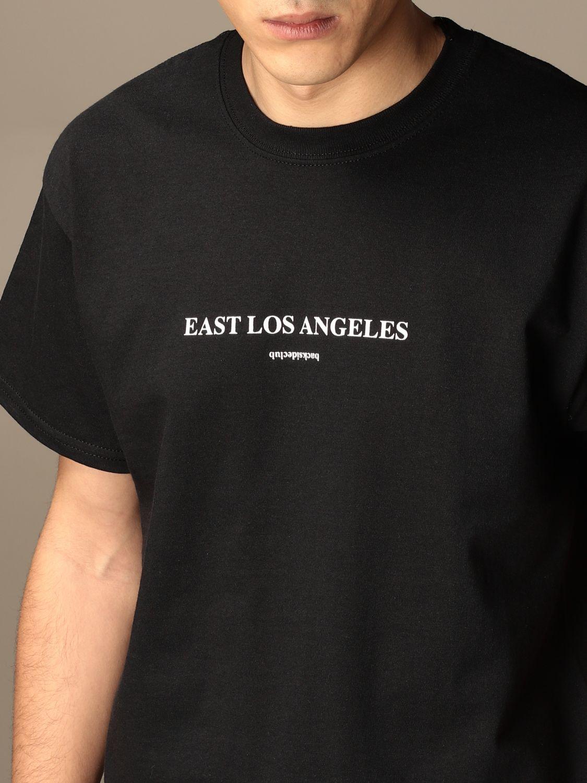 T-shirt Backsideclub: T-shirt East Los Backsideclub in cotone con stampa nero 3