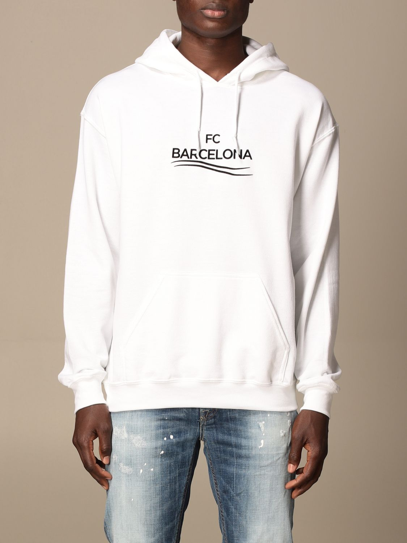 Sweatshirt Backsideclub: Sweatshirt men Backsideclub white 1