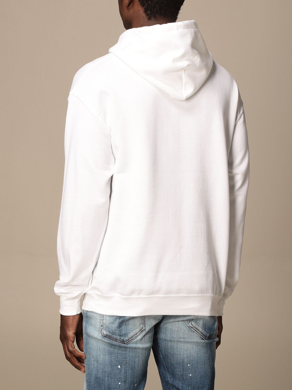 Sweatshirt Backsideclub: Sweatshirt men Backsideclub white 2